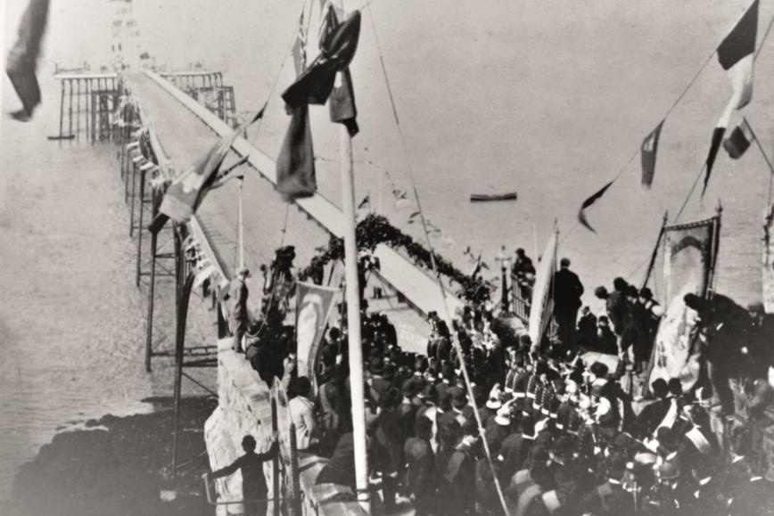 CELEBRATING 150 YEARS: Happy Birthday Clevedon Pier!
