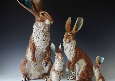 Gin Durham Family of Hares
