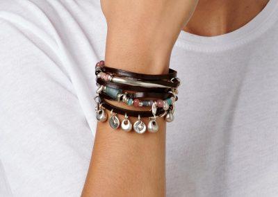 Layered bracelets by UNOde50