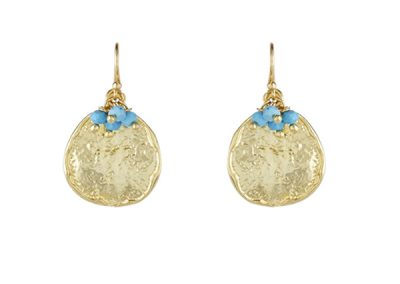 Ashiana Jewellery - Solange Earrings Turquoise - Fizz Collection