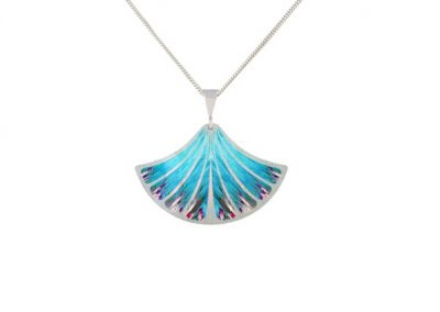 Pixalum - Feather Blue pendant - Fizz Collection