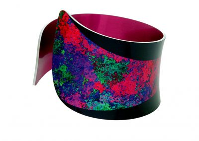Pixalum - Starburst Pink Bangle - Fizz Collection