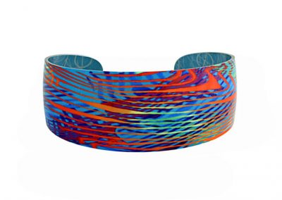 Pixalum - Weave Turquoise Bangle - Fizz Collection
