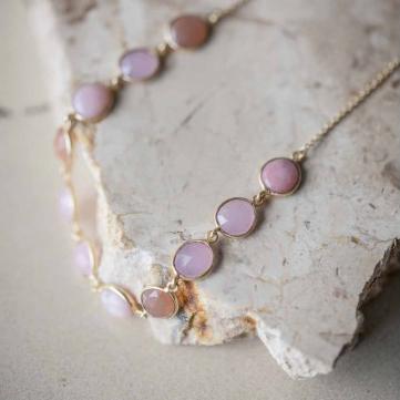 Shan Shan - Ellip Necklace Purple - Fizz Gallery