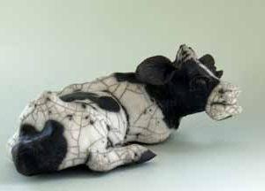 cow lying down