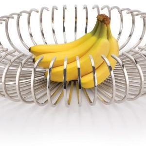 garth williams stainless steel fruit bowl fine bar large