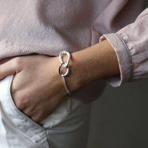 tutti & co silver bracelet