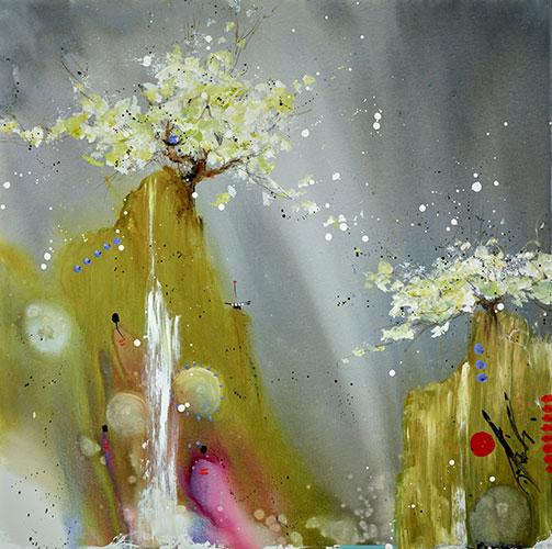 Inside the rain by Danielle O'Connor Akiyama